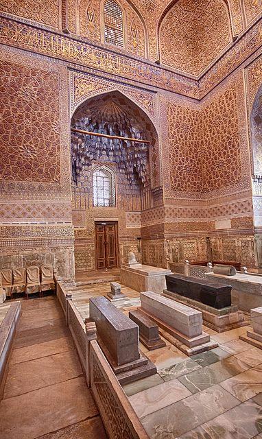 Tamerlanes Mausoleum . Samarkand Uzbekistan