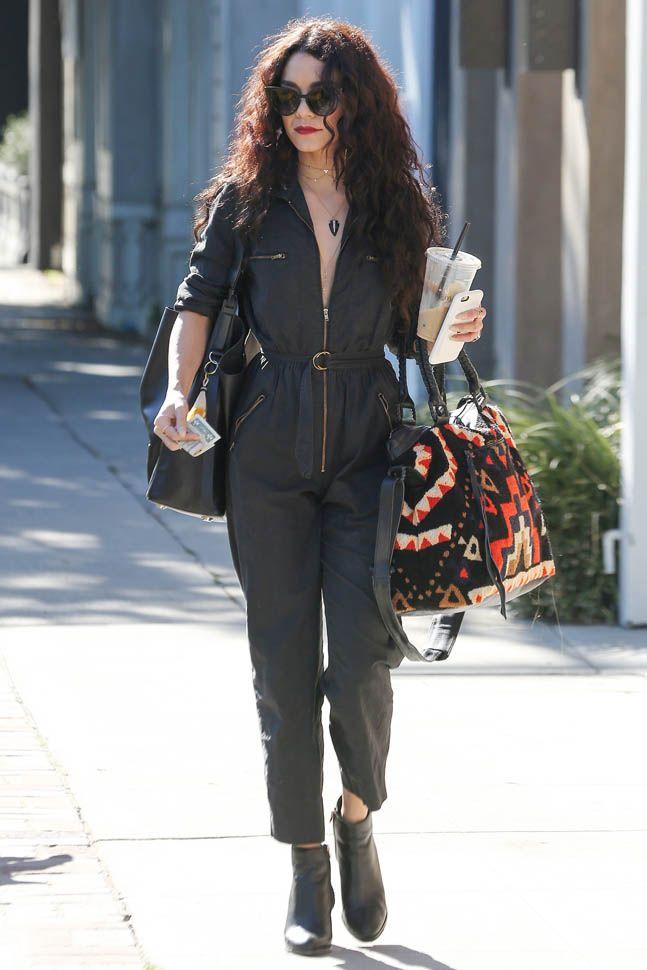 Vanessa Hudgens's mechanic jumpsuit|Lainey Gossip Lifestyle