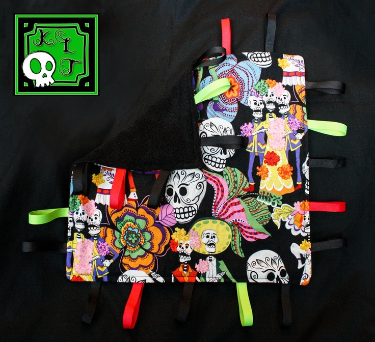 Day of the Dead Taggie lovey - by KLTboutique