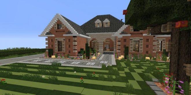 Suburban House Minecraft Tsmc