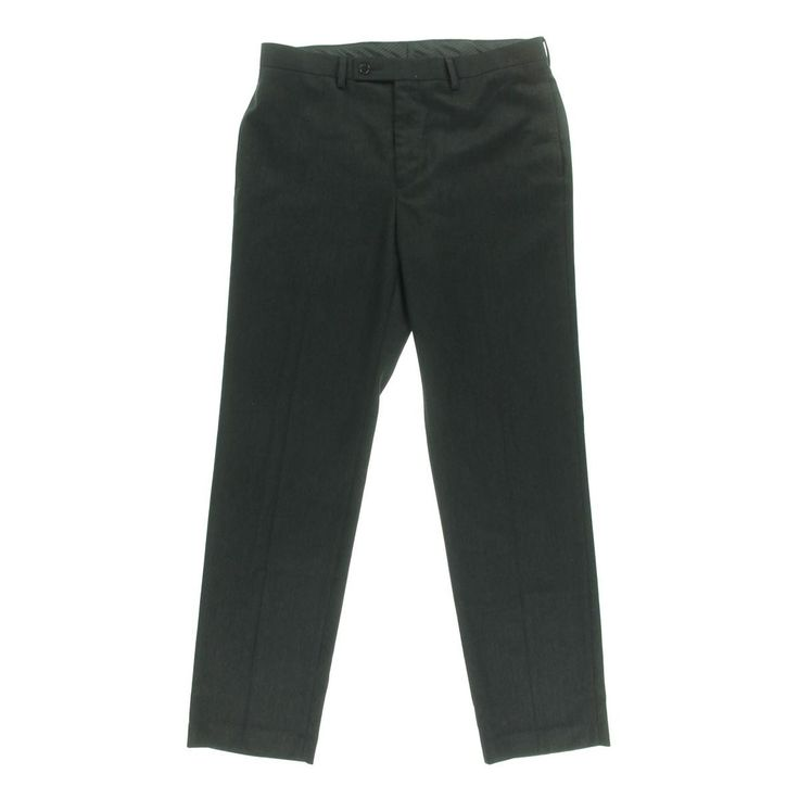 Calvin Klein Mens Pindot Slim Fit Dress Pants