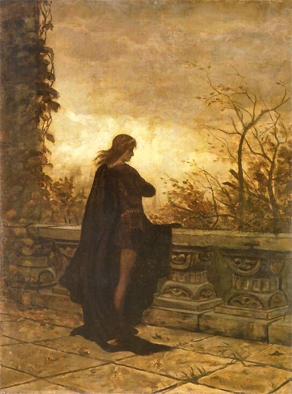 Aleksander Gierymski Hamlet, 1870