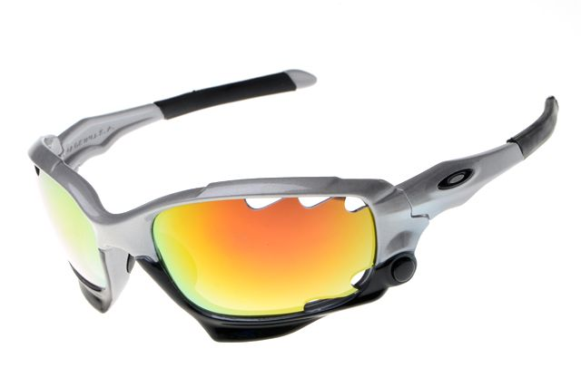 Oakley Star of Sunglasses Black Gray Frame Colorful Lens 1163