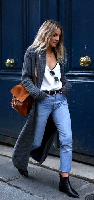 Incredibly Best 46 Casual Chic Winter Outfits For Women  #CasualChicWinter #CasualOutfits #…