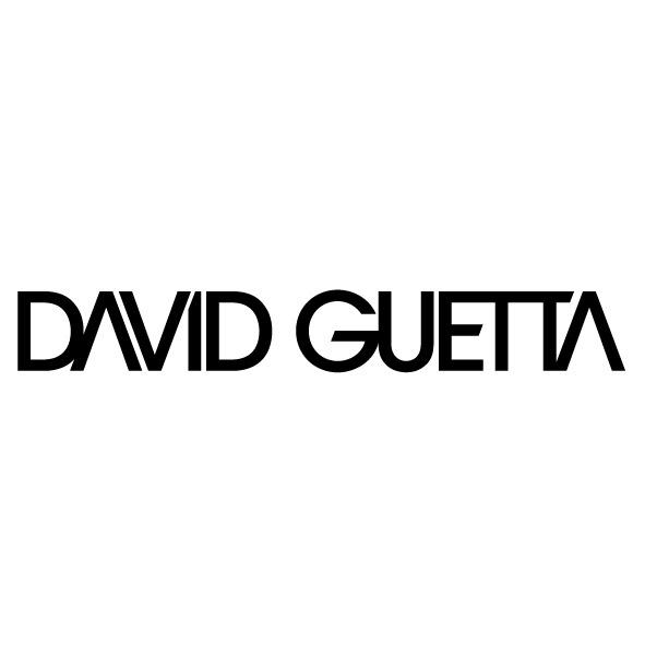 """logo dj """" David Guetta"""""""
