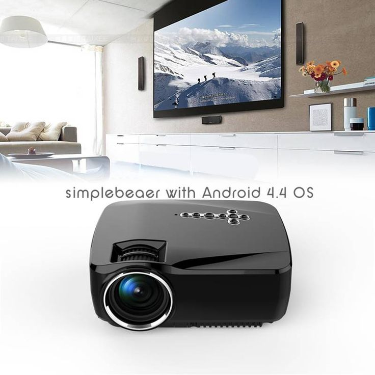 >> Click to Buy << Projector 1200 Lumens HD Home Theater GP70UP Micro Wireless Projector  with Android 4.4 OS,Wifi Projector  #Affiliate