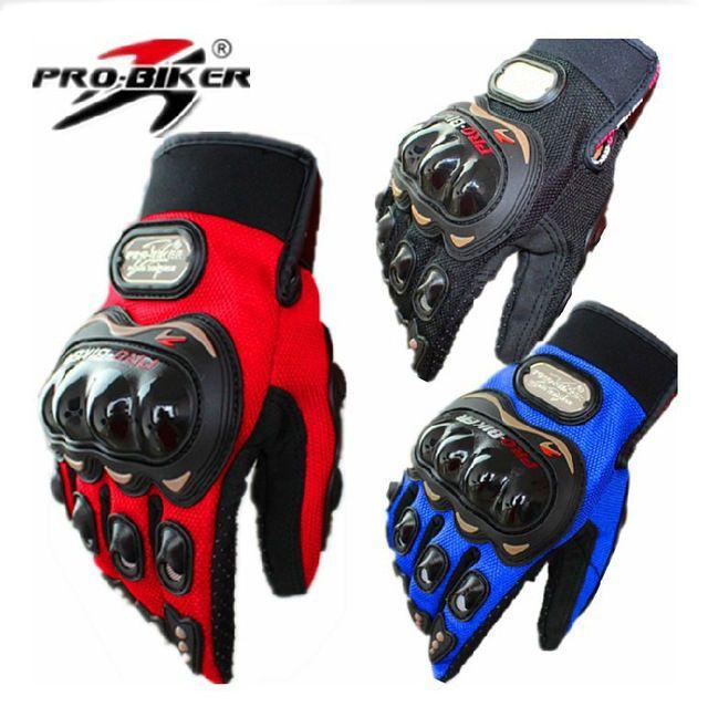Motorcycle Motorbike Motocross Motor Summer Fiber Bike Racing Gloves Pro-Biker  #Probiker
