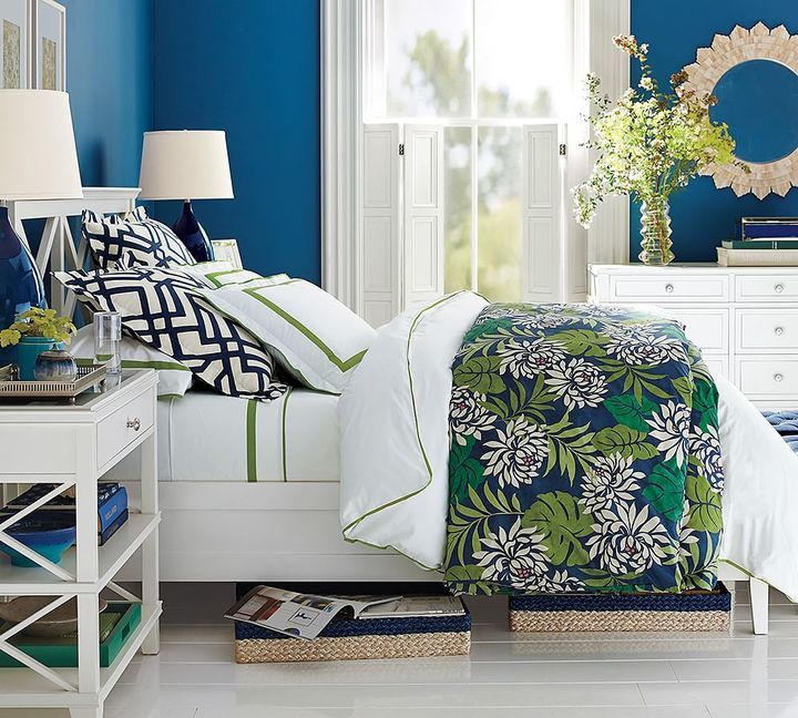 Clara Wood Bed Headboard Preppy Home Wish List