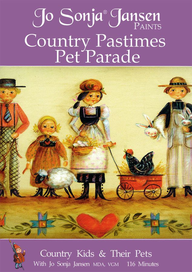 Country Pastimes Pet Parade DVD - JD105