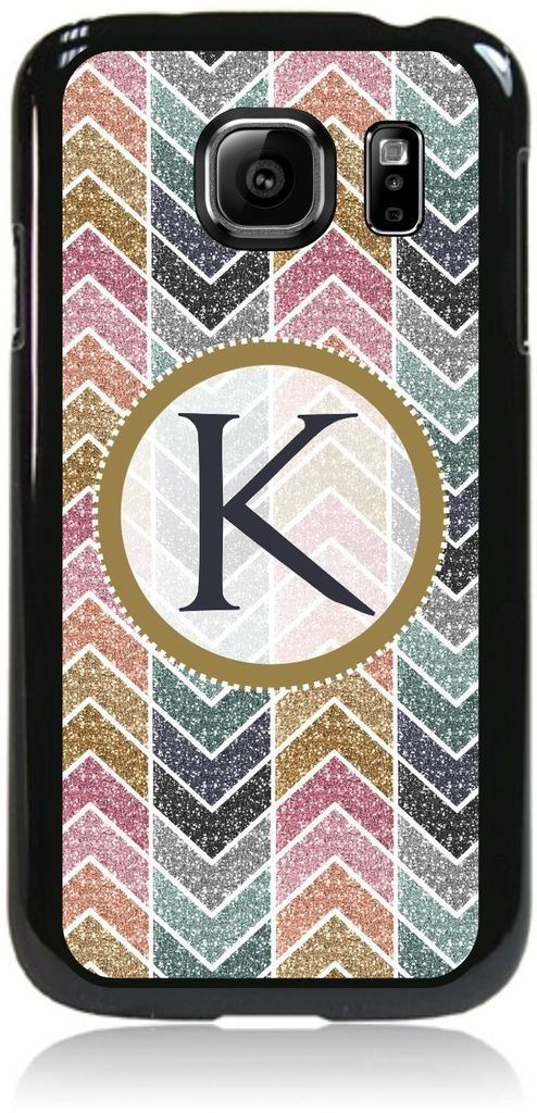 K-Glitter-Look Monogram-© TM Hard Black Plastic Snap On Case Compatible with the Samsung® Galaxy s7 EDGE Only (Not the Standard s7) Made in the U.S.A. High Quality Hard Black Plastic Snap-On Case Compatible with the Samsung® Galaxy s7 EDGE Only (Not the Standard s7). Bright, Eye-Catching Flat-Printed Image on Metal Substrate with Glossy Finish. Made and Manufactured in the U.S.A. Excellent Customer Service! Great Gift Idea!. As the sole manufacturer of this Item, Lea Elliot Inc. does not...