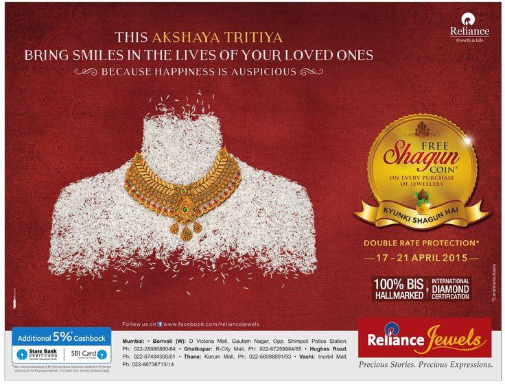 On this Auspicious day of #akshaytritiya begin #jewellery purchase with #shagun gold coins , certified Jewellery and #BIS #hallmarked jewellery.