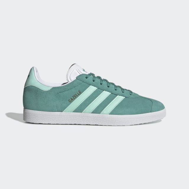 Gazelle Shoes True Green / Clear Mint / Cloud White BD7497 ...