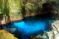 The Grotto: Tobermory, ON. I would love to dive this cave in the future, but the hike around is great too!