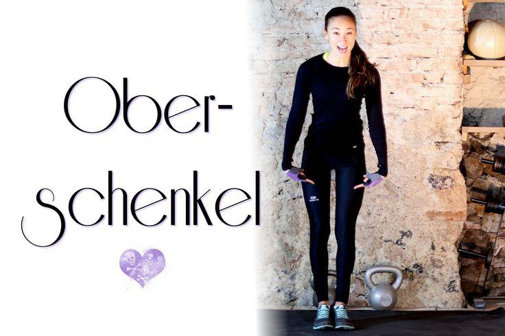 5 Min Bein Workout - Schlanke Oberschenkel trainieren - Übungen Innere O...