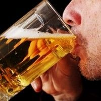 Middle-aged adults who have an average of two alcoholic drinks per day are at higher risk for stroke.