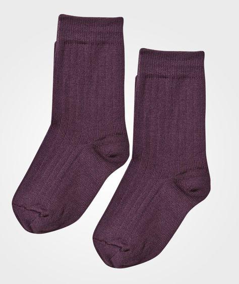 Ullsokker! Str 68 + eller 16/17 +. https://www.babyshop.no/two-pack-wool-socks-plum/p/118184