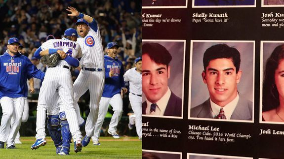 A high schooler in 1993 predicted the Cubs 2016 World Series appearance