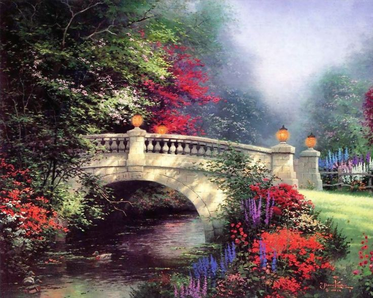 Thomas Kinkade. Find all of Lamps Plus' Thomas Kinkade lighting here: http://www.lampsplus.com/products/manufacturer_thomas-kinkade/