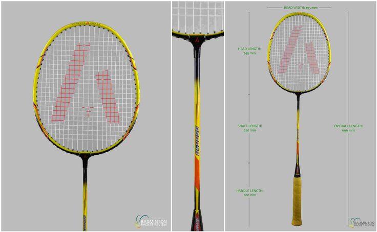 Ashaway 9600 SQ Badminton Racket