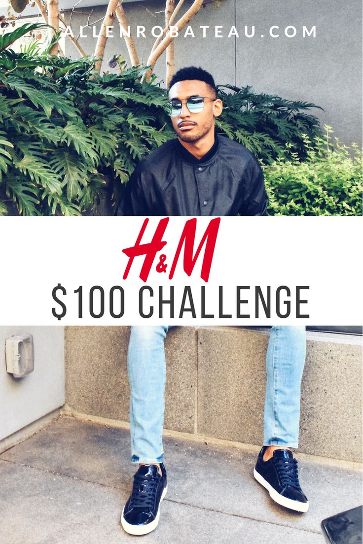 @ALLENROBATEAU  MENS FASHION STREET STYLE H&M MEN  STYLE CHALLENGE