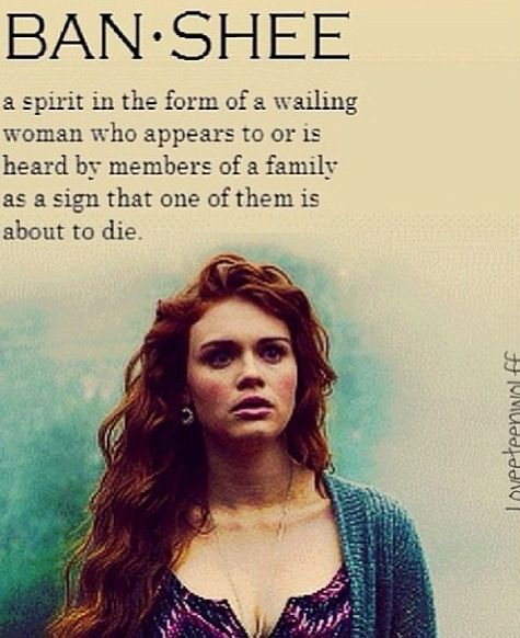 Lydia. Teen Wolf. By the way, I love her hair in this picture :)