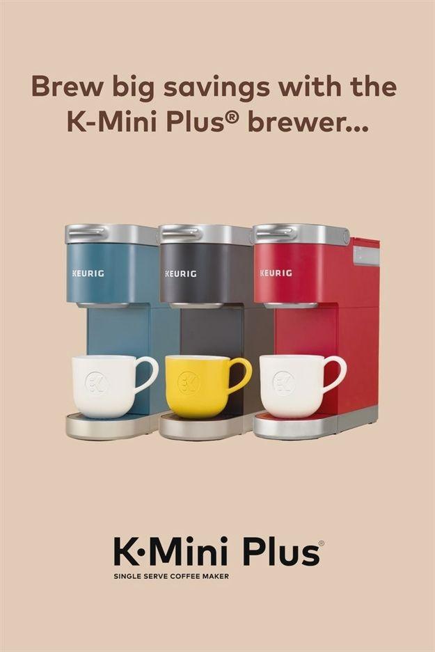Keurigthe K Mini Plus Coffee Maker Single Serve Coffee Makers Food To Go Coffee Maker
