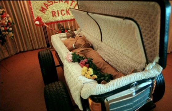 "Richard (Maserati Rick) Carter Killed In Detroit, MI ~ 9/12/1988 ~ RIP Rick #detroit | Going out in style ""A different kind of Funeral"" 