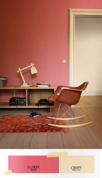 Creëer een retro look met de kleuren uit de Flexa Creations verfcollectie
