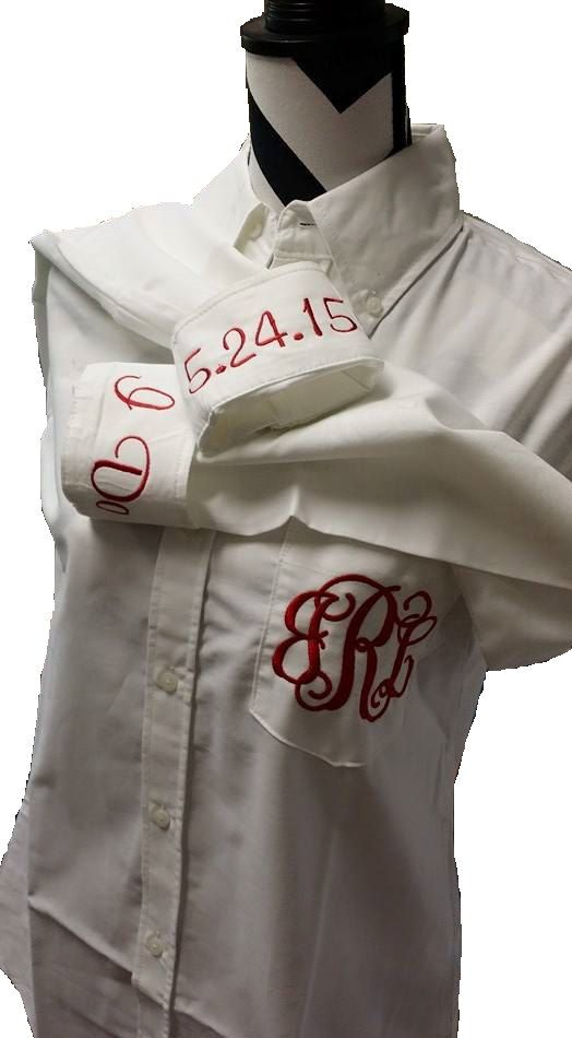 Set of 10 Monogrammed Bride and Bridesmaids by VinylDecalShoppe
