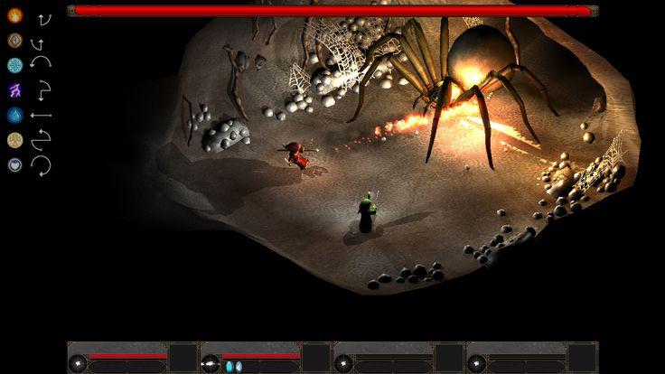Super old screenshot from Magicka!