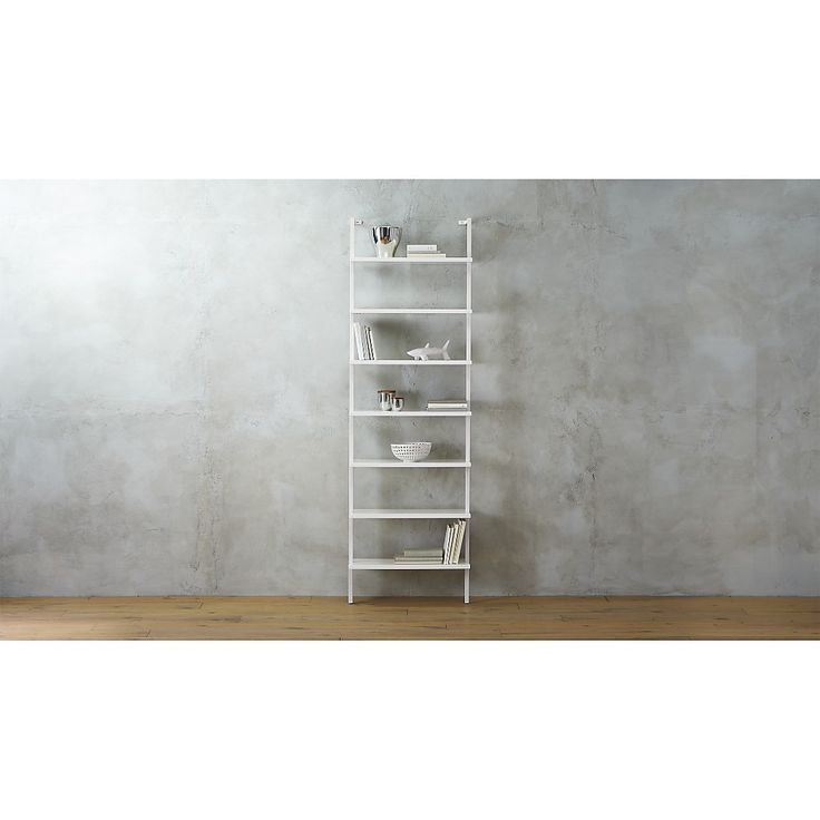 Stairway White Ladder Bookcase Reviews Cb2 Bookcase Glazed Walls Wall
