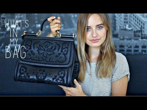 What's In My Bag   Sonya Esman - YouTube