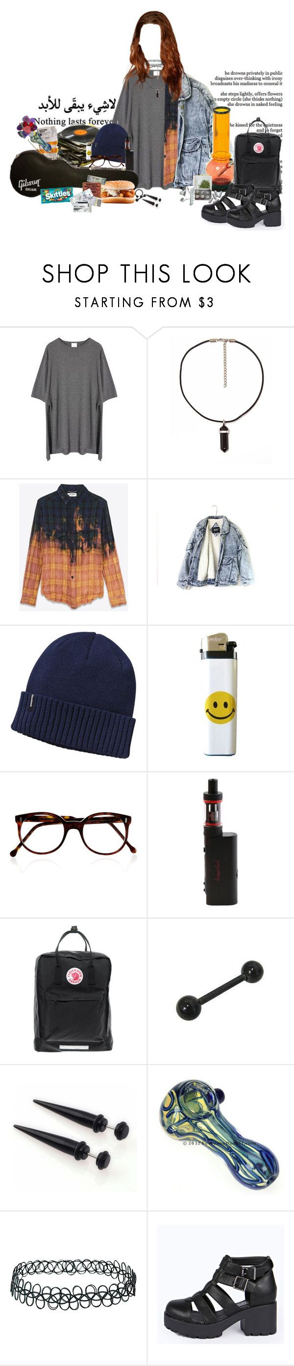 """Do Ya Thing~Gorillaz"" by headbangingunicorn ❤ liked on Polyvore featuring xO Design, Momewear, Yves Saint Laurent, Patagonia, Cutler and Gross, Fjällräven, Topshop and Boohoo"
