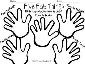 First Days of School Activity Pack. I like the idea but might change a couple of the topics. Maybe have them put their name on the top and pass the paper around to write 5 good things about the person who owns the paper?