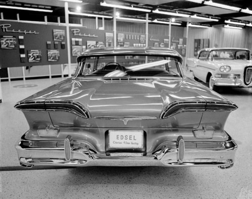 The 1958 edsel citation four door hardtop fabulous 39 58 for Ford motor company dealerships