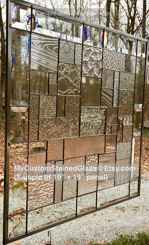 Stained Glass Panel Patchwork Window Clear Textured Frosted Stained Glass Light Stained Glass Windows Stained Glass Panels