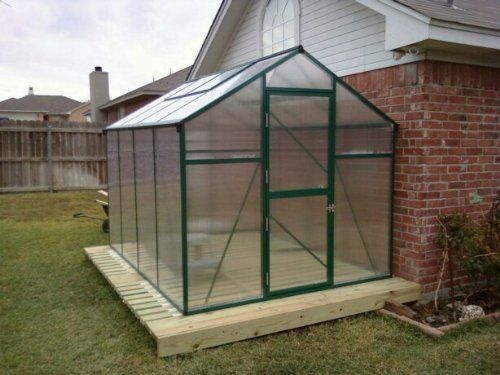 "Nature's Premium 7x12 Greenhouse Snap together Connections by EarthCare Greenhouses. $949.99. Expandable for future growth. 4 MM Double Wall Polycarbonate. 6' 10"" wide and 11' 6"" long, and 7' high  7'3"" wide to outside of gutters. 4 Roof Vents - Gutters and Downspouts. Snap and Click Connections for easy assembly.. *  Heavy Duty Power Coated Extruded Aluminum. *  6' 10"" wide and 11' 6"" long, and 7' high  7'3"" wide to outside of gutters *  4 MM Double wall polycarbon..."