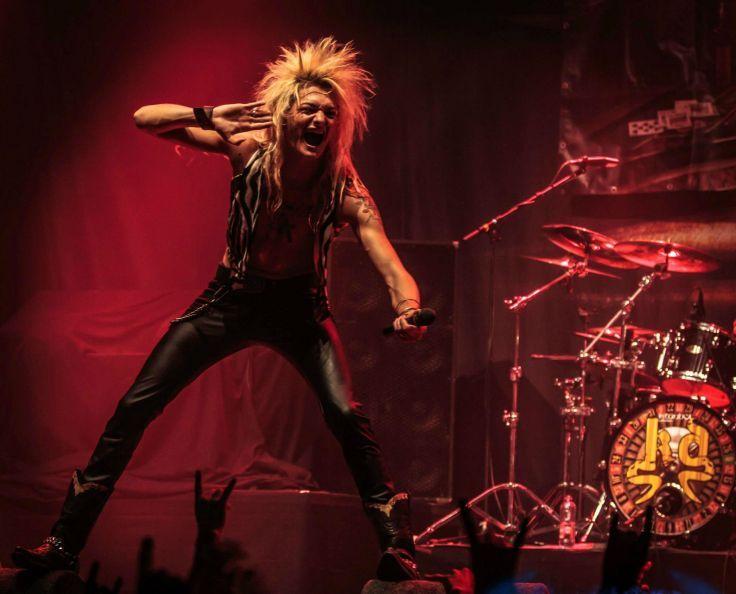 KISSIN DYNAMITE heavy metal concert f