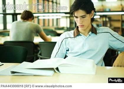 http://www.visualphotos.com/photo/2x3515837/male_college_student_sitting_library_studying_PAA443000018.jpg