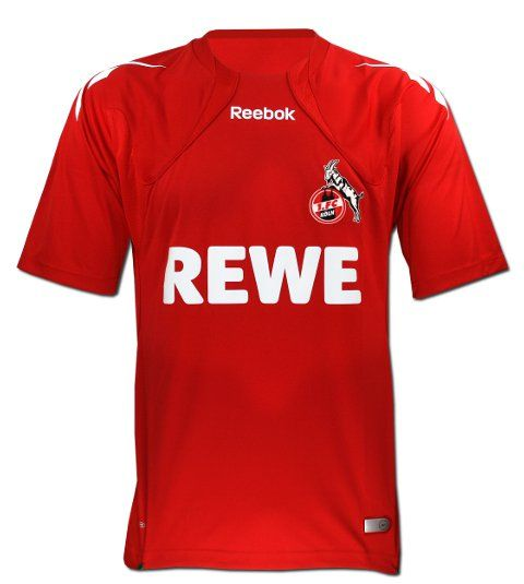 2010-11 FC Koln Reebok Home Football Shirt #Sport #Football #Rugby #IceHockey