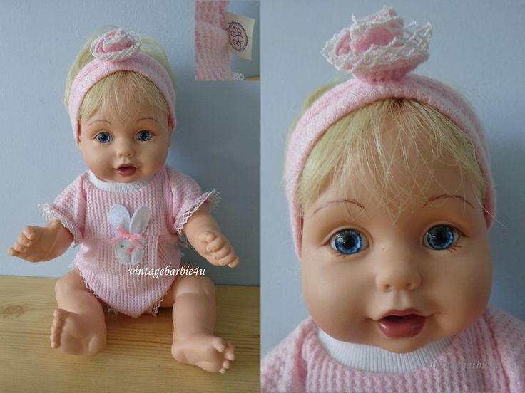 1995 Playmates Baby So Beautiful Baby Doll Blonde with Original Outfit Tagged  #Playmates #DollswithClothingAccessories