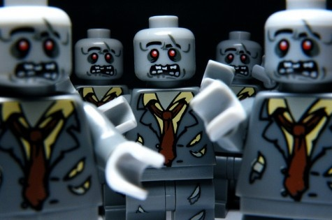 Zombies or a really hard day at the office? #Lego #Zombie #Doomsday