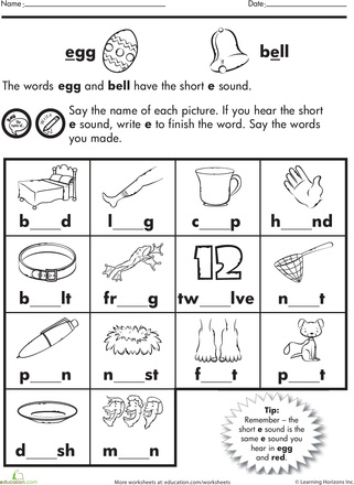 Worksheets Short E Worksheets 1000 ideas about short e sound on pinterest words a and character setting plot