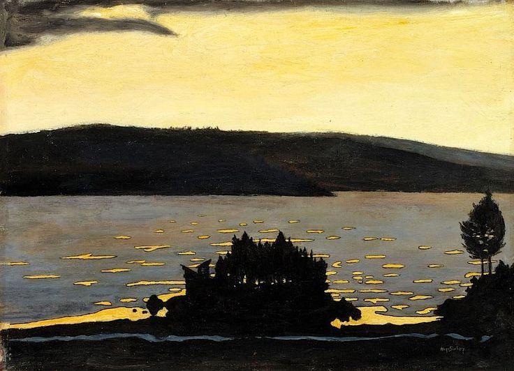 Hugo Simberg, Spring Evening, 1897
