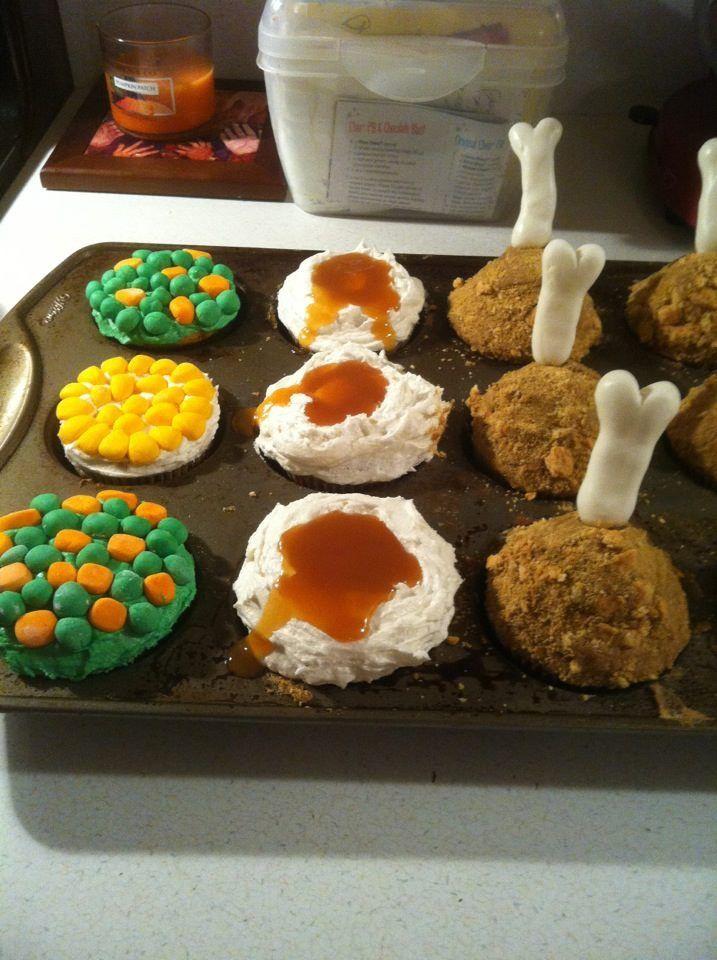 Thanksgiving on pinterest for Halloween mini cupcake decorating ideas