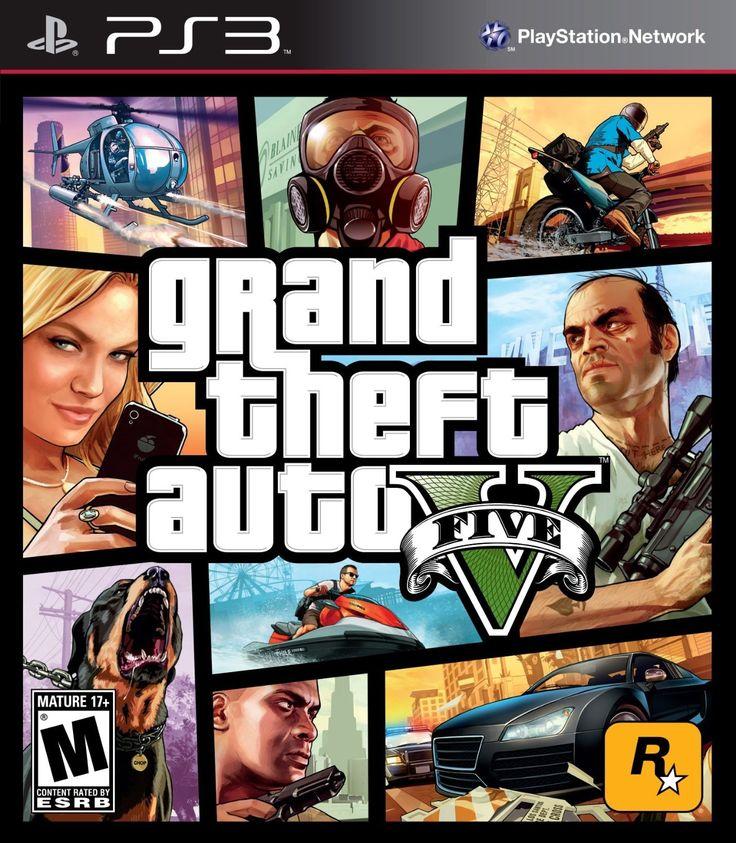 Ahora disponible (PS3) Grand Theft Auto V -Usado- buen estado.