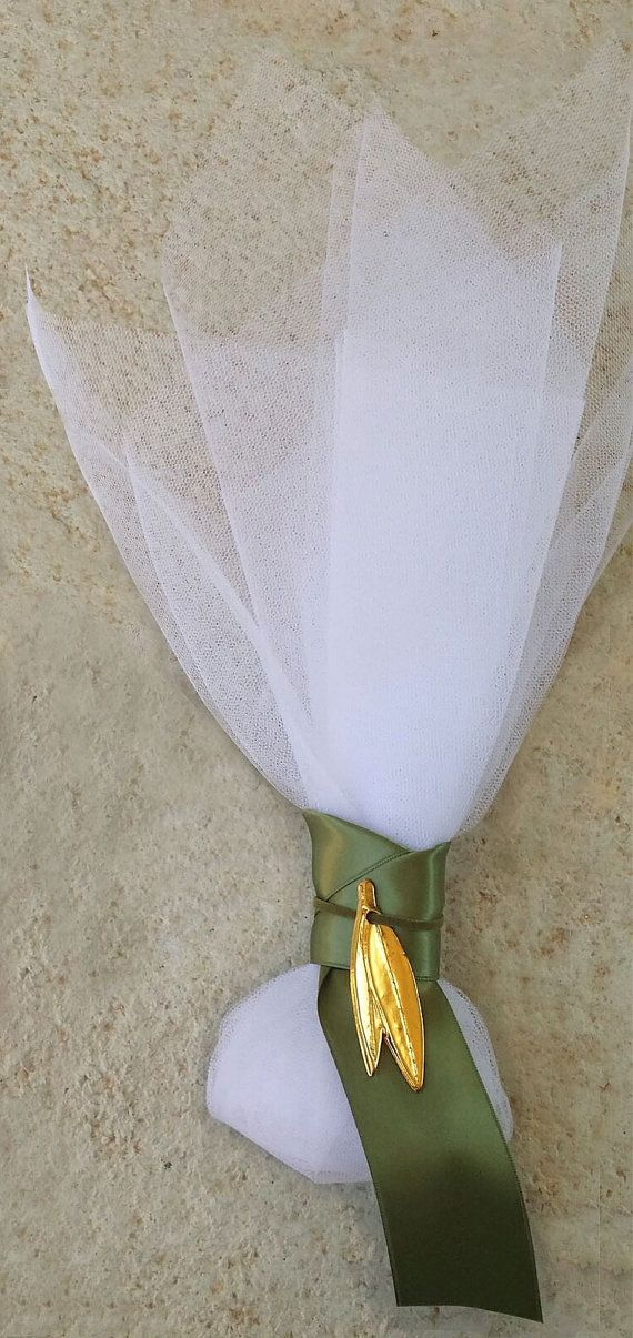 Greek Bombonieres Olive Wedding Favors by PreciousandPrettygr