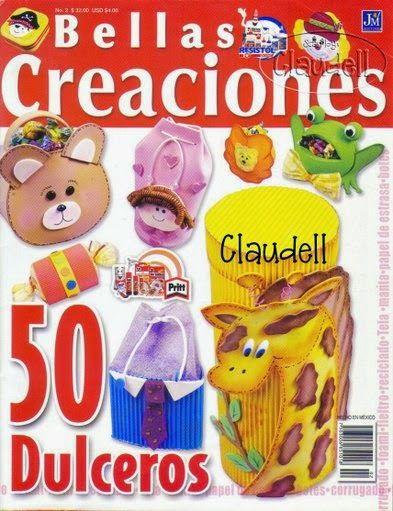 Revistas de manualidades Gratis: Como hacer dulceros para fiestas