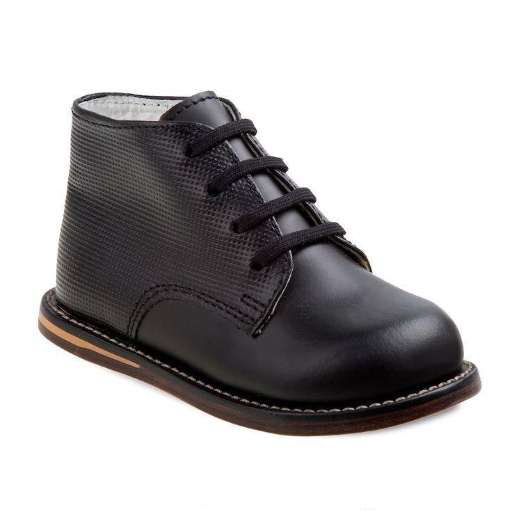 Josmo Toddler Walking Shoes, Kids Unisex, Size: 3.5 T, Black