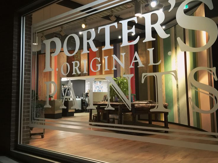 Sometimes we wish we could take them home with us! Pop into Porter's Paints Mascot (our new HQ) and experience our paints, wallpapers and specialty finishes first hand and on a wonderfully grand scale!